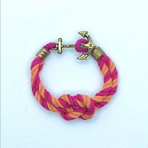 ⭐️ NWOT Kiel James Patrick Rope Anchor Bracelet
